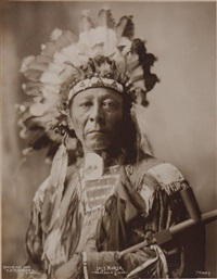 last horse, oglala lakota by frank a. rinehart