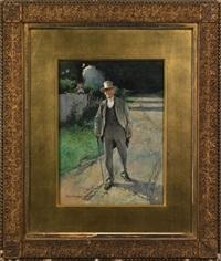 portrait of a gentleman by william thomas smedley
