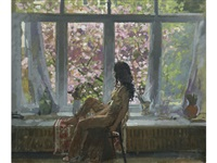 spring at oriel by ken howard