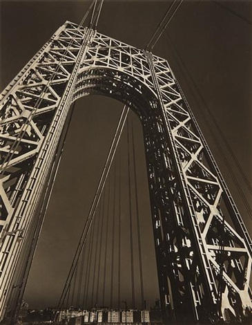 the george washington bridge by edward steichen