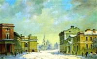 paysage de st petersbourg by ivan vasil'ev