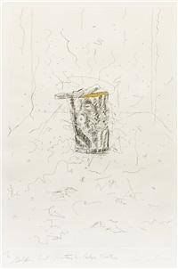 golden cut rectangle - calyx krater by james rosenquist