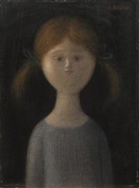 volto femminile by antonio bueno