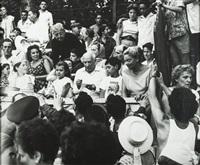 picasso dans les arènes pendant une corrida by andré villers