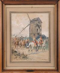 le général colbert au moulin de ligny 1815 by george bertin scott
