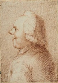 satirische profile (2 works) by johann heinrich lips