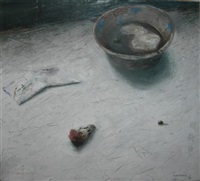 still life with bowl by suscha korte