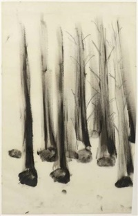 arbres by giuseppe penone