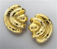 earrings (pair) by henry dunay