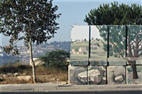 gilo no.1 (from panoramas of occupation series) by miki kratsman