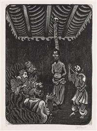 das tigerfrühstück,. pl. 14 (from illustrationen zu