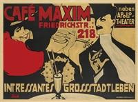 cafe maxim by robert reimann
