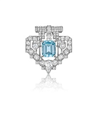important art deco brooch by cartier