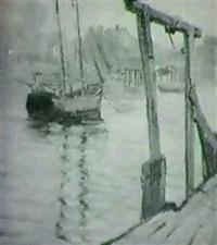 fishing boat near gloucester by elizabeth g. jewell