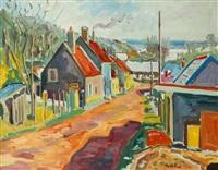 village au bord de l'oise by paco-fiol