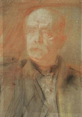 bildnis otto fürst von bismarck (unfinished) by franz seraph von lenbach