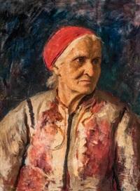 piroskendős asszony by oszkár glatz