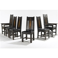 dining chairs (set of 6) by shop of the crafters