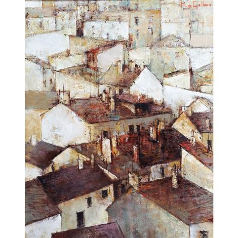 les toits de la ville by michel de gallard