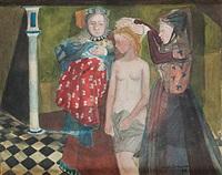 liten vallpiga, klädes för att sjunga för kungen by birger ljungquist