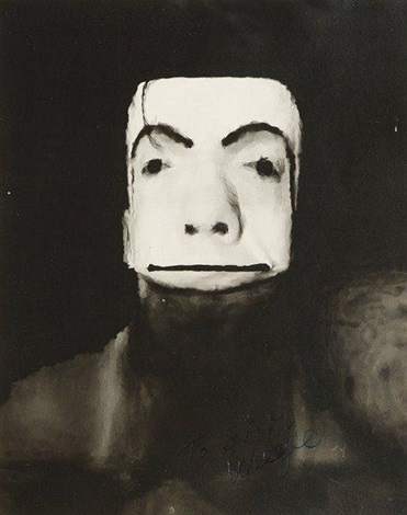 distortion. jimmy armstrong the clown by weegee