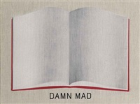 damn mad open book by ed ruscha