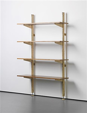 unique set of adjustable shelves designed for ferembal house nancy by jean prouvé