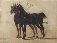 coppia di cavalli by sebastiano de albertis