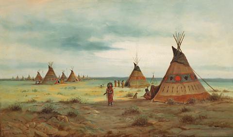 cheyenne camp by astley david middleton cooper