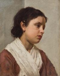 ritratto di donna by gioacchino toma