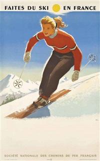 faites du ski en france by abel