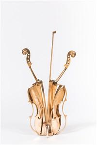 violon doré by arman