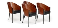 suite de quatre fauteuils costes (set of 4) by philippe starck