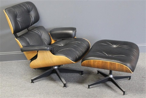 Fantastic Charles Eames Lounge Chair And Ottoman By Charles And Ray Machost Co Dining Chair Design Ideas Machostcouk