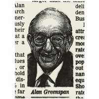 alan greenspan by josé-maría cano