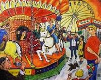 fête foraine: le manège des grands by henri heiderscheid