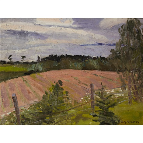 new brunswick landscape by william goodridge roberts