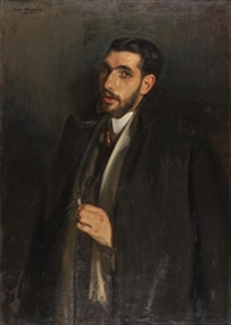 retrato de francisco posada by jose maria lopez mezquita