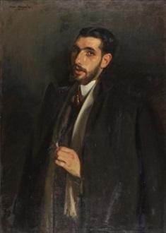 retrato de francisco posada by jose maria lopez mezquita