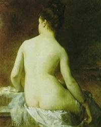 la nue dans l'atelier by arsène hippolyte rivey