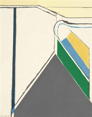 untitled ocean park by richard diebenkorn