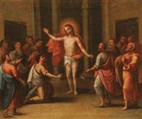 the doubting of thomas by nikolaus augner