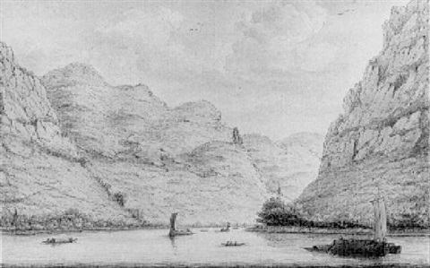 a view of kestert looking upstream by hendrick de leth