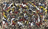 this is not a pollock by mike bidlo