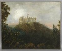 below castle rutlandshire by patrick nasmyth