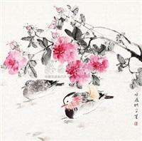 芙蓉鸳鸯 by liu wensheng