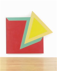 moultonboro iii (from the irregular polygon series) by frank stella