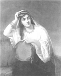 orientale au tambourin by comtesse anne reille