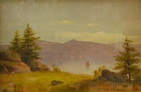 sketch from an island in the lower st. lawrence by charles lanman