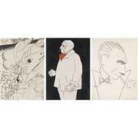 marc chagall (+ 2 others; 3 works) by adolf hoffmeister